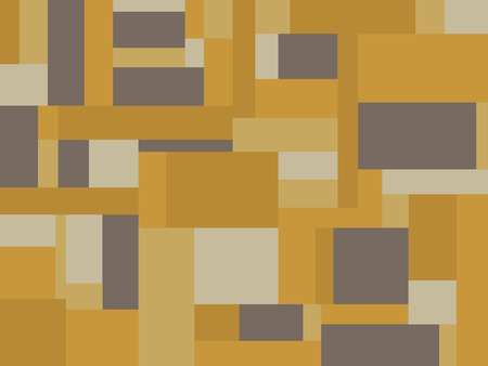 rectangle: Earth tone rectangle pattern