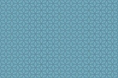 Abstract blue jean geometric background texture