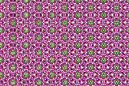 Abstract flower geometric background texture