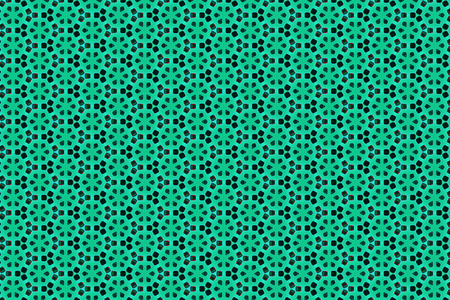 Abstract green plastic geometric background texture