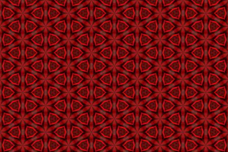 Abstract red plastic geometric background texture