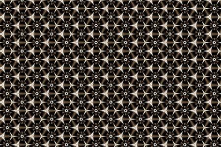 Abstract shuriken geometric background texture Stock Photo