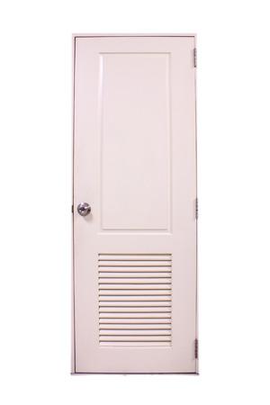rectangular white door in the house Stock Photo - 29933398