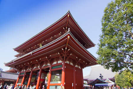 senso ji: sensoji temple - 2014 October 30 : Sensoji (also known as Asakusa Kannon Temple) is a Buddhist temple located in Asakusa. It is one of Tokyos most colorful and popular temples.