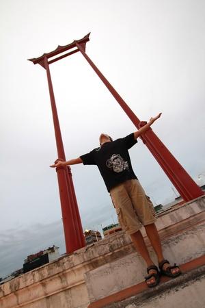 cha: freedom at Sao Ching Cha, Thailand
