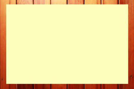 wood with blank paper background photo