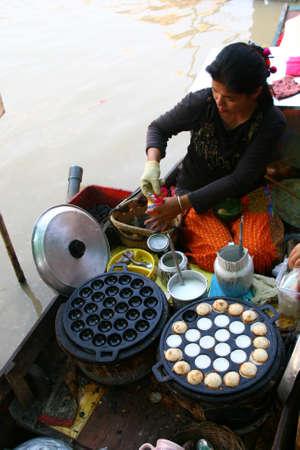 Thai style flooting market