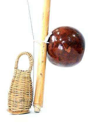 berimbau capoeira musical instrument Stok Fotoğraf