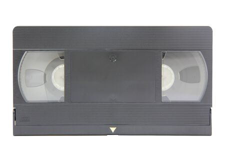 isolated retro style video tape photo