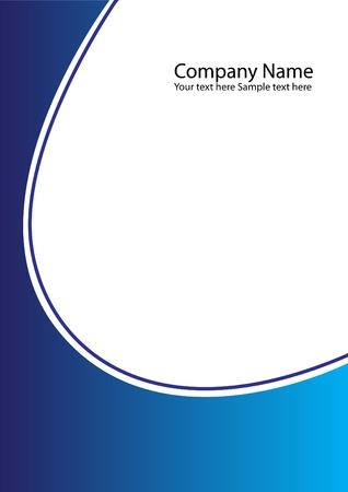 carpeta: compa��a de carpeta como un resumen de antecedentes