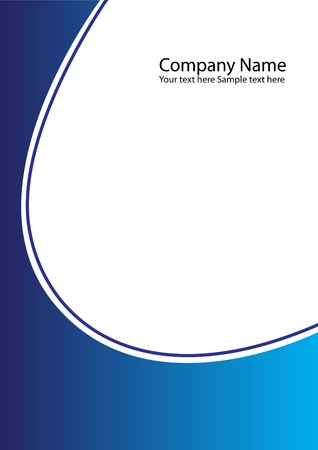 cover: company folder as an abstract background Stock Photo