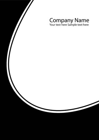 black company folder as an abstract background photo