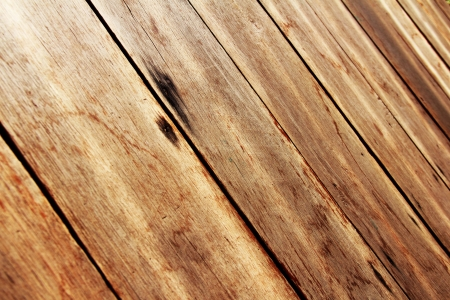 Wood work: texture of brown wooden table Stock Photo