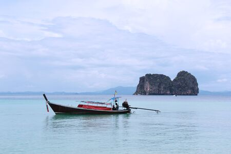 landscape of andaman sea in thailand photo