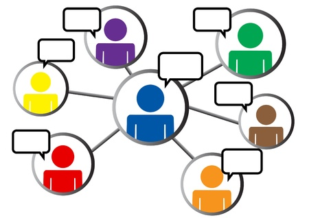 social networking with chat box