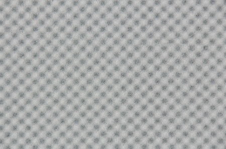 dampen: abstract background of a sound insulation Stock Photo
