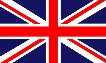 in english: back ground of a british flag