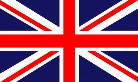 scottish flag: terra posteriore di una bandiera britannica Archivio Fotografico