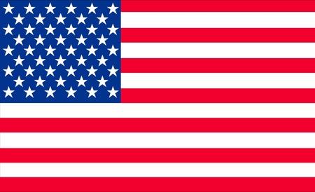 flag of usa: illustration of the american flag