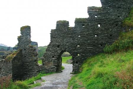 arthur: tintagel the king arthur camelot castle cornwall uk
