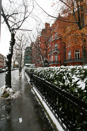 london street in winter season Stock Photo - 14892597