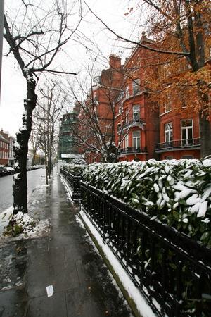 london street in winter season Stock Photo - 14892597