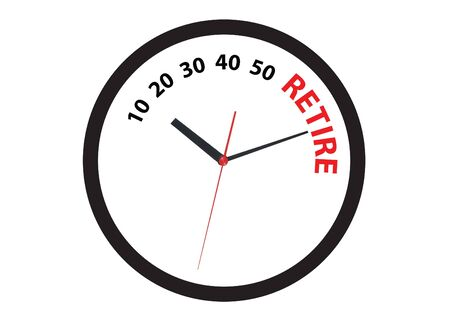 clock ticking to the retire tome