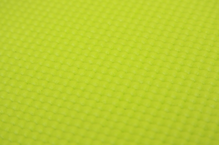background of green yoga matt Stock Photo