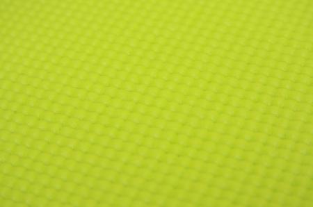 background of green yoga matt Archivio Fotografico