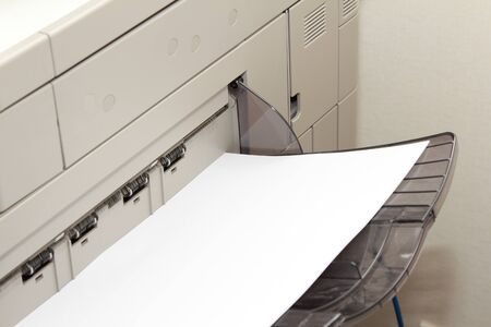 multifunction copy machine with blank paper photo