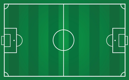 football pitch for team planning photo