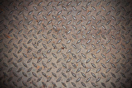 background of old metal manhole cover photo
