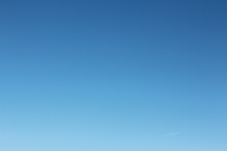 background of clear blue sky