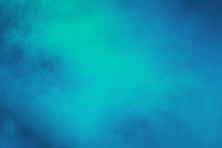 abstract background of blue smoke