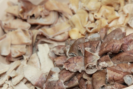 boile pork guts as a food ingredient Stock Photo - 19406269
