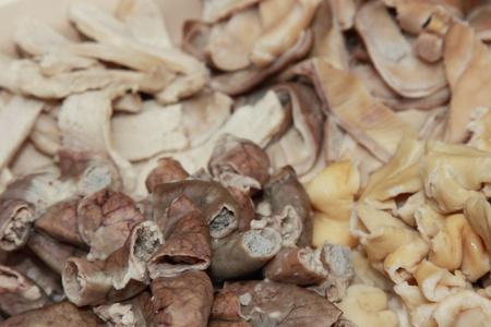 wnętrzności: Boile flaki wieprzowe jako skÅ'adnika żywnoÅ›ci Zdjęcie Seryjne
