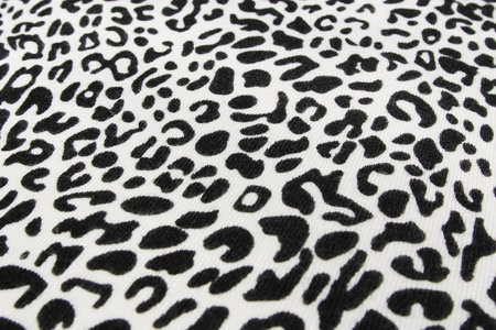 black and white background of  leopard  skin pattern photo