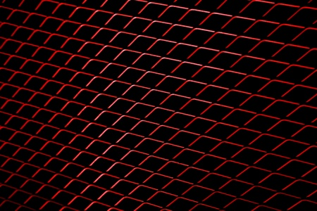 abstract background of  red mesh wired photo