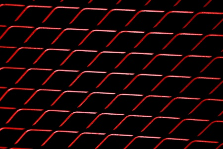 abstract background of  red mesh wired Stock Photo - 20688311