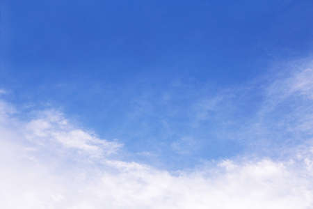 background of clear cloudy blue sky photo