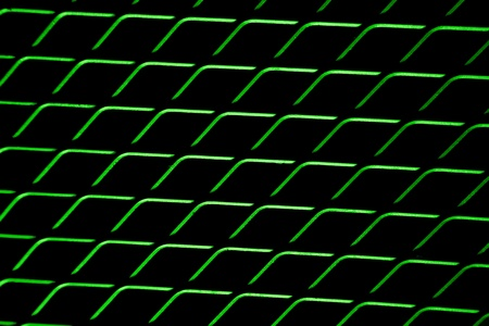 abstract background of  green mesh wired photo
