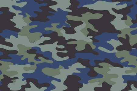 background of soldier blue camo pattern photo