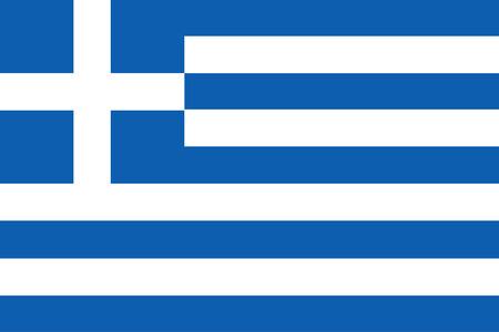 vector of greece flag  イラスト・ベクター素材