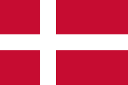 vector of denmark flag Stock Vector - 23258501
