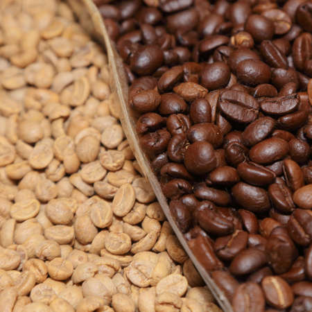 background of coffee beans photo