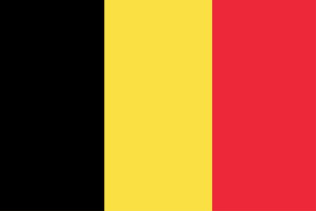 belgium flag: vector of belgium flag