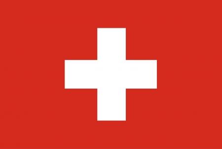achtergrond van de vlag van zwitserland Stock Illustratie