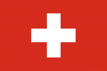 Fondo de la bandera de Suiza Foto de archivo - 23569094