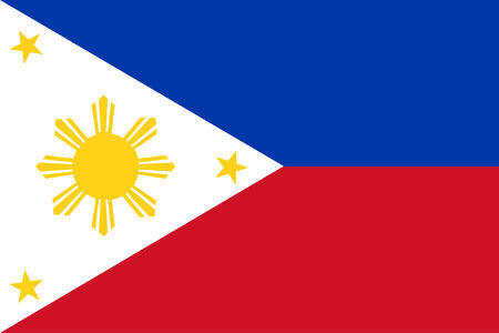 filipino: background of republic of the philippines flag