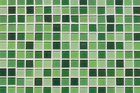 background of pattern of green ceramic wall photo